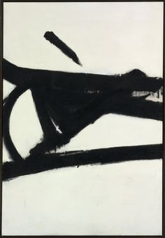 Very Cool! Accent Grave, Franz Kline 1955. #FranzKline - Pinned by http://TommyAndersson.com #TommyAndersson