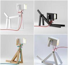 Luminous Dog Lamp ~ Designed by Elizabeth Zimmerer and Morton Leute ~ A flexible. - Vanessa Gastaldo - - Luminous Dog Lamp ~ Designed by Elizabeth Zimmerer and Morton Leute ~ A flexible.