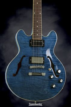 Gibson Memphis ES-339 (Quilted Blue)