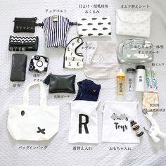 やっぱり気になる、みんなのマザーズバッグ中身大公開! | Conobie[コノビー] What In My Bag, What's In Your Bag, Mothers Bag, Toy R, Cool Baby Stuff, Baby Care, My Bags, Chibi, Diaper Bag