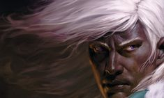 Finally, Drizzt has a face that befits him!