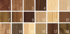 Muestras de maderas naturales | Bubinga, cedro, cerezo, dussie, fresno, haya, iroco, jatoba, kotibe, maple, meliz, moaby, niangon, nogal, pino, roble, sapeli, embero