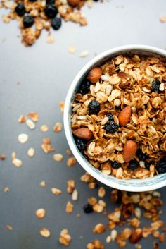 almond coconut granola... might this be a replica of what we had in maine??
