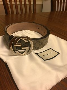 e1a6207a788 mens Gucci belt size 36  fashion  clothing  shoes  accessories   mensaccessories