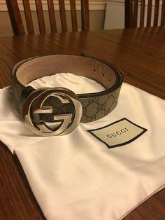 0a71d07676d mens Gucci belt size 36  fashion  clothing  shoes  accessories   mensaccessories