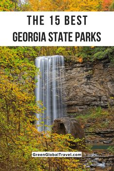 15 Best State Parks in Georgia with some of the best activities, attractions, and accommodations in each!   best state parks in georgia   ga state parks   georgia state parks camping   georgia parks   ga state parks camping   state parks in georgia   georgia state parks cabins   ga state parks cabins   gastateparks    ga state park   state parks georgia   georgia state parks rv camping   georgia state parks cabin rentals   parks in ga   state parks in georgia with waterfalls via… Usa Travel Guide, Travel Usa, Asia Travel, Travel Guides, Travel Tips, Cool Places To Visit, Places To Travel, Travel Destinations, Georgia State Parks