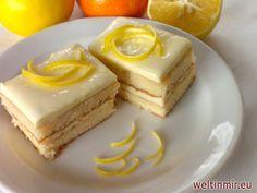 Zitronen Schnitte, Rezept