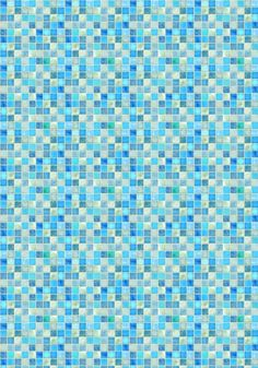 This is the pattern I am using for the pool walls. *Print on cardstock.