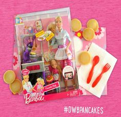 Barbie Pancake Chef Twitter Giveaway