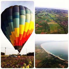 A must-do in Costa Brava: a hot-air balloon flight with Globus Emporda.
