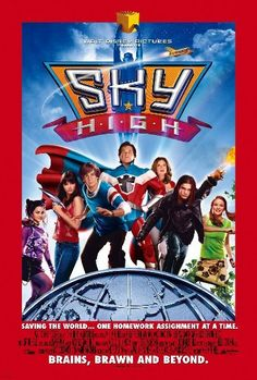 Disney Channel Original Movie sky high  LOVE this movie!!!