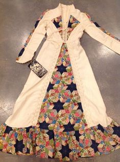 4cb884d8d9 NWT Vintage Gunne Sax dress Hippie patchwork dress Prairie corset dress # fashion #