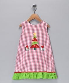 dress with applique idea