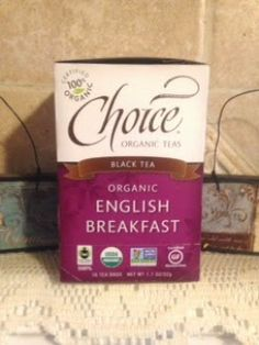 Shakin & Bakin Foodie Blog: Choice Organic Black Breakfast Tea Review #Sponsored