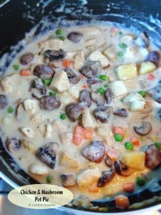 Cuisine Paradise | Singapore Food Blog | Recipes, Reviews And Travel: [Weekly Meal Planner #3] Our 5 Favourite Western Dish Recipes - Chicken & Mushroom Pot Pie