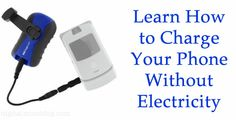 How to Charge Your Phone With a USB Hand Crank Charger