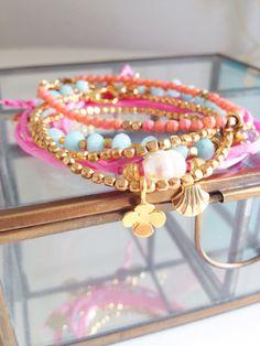 Nieuwe armbandjes! #bohochic #bohemian #gemstones #bracelets