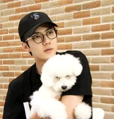"sehunsi: "" MOST PRECIOUS DOG DAD """