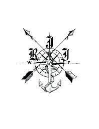 Ideas tattoo arrow men compass rose for 2019 Music Tattoos, Arrow Tattoos, Feather Tattoos, Dog Tattoos, Couple Tattoos, Forearm Tattoos, Sleeve Tattoos, Tattoos For Guys, Anchor Compass Tattoo