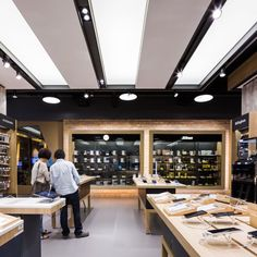 electronic shop interior&shop design&retail design