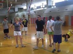 Flickerball Game & Skin the Snake for Middle School Physical Education University of Louisiana - YouTube
