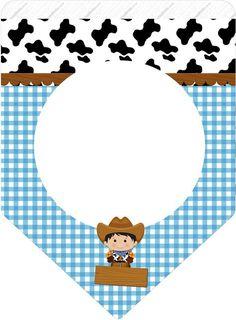 Uau! Veja o que temos para Bandeirinha Varalzinho Kit Fazendinha Menino Cowboy Birthday Party, Farm Animal Birthday, Cowgirl Party, Farm Birthday, Cowboy Baby, Cowboy And Cowgirl, Sandbox Cover, Kids Sandbox, Farm Party Invitations