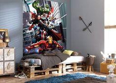 Marvel Curtains and Avengers Bedroom Accessories Avengers Bedding, Avengers Room, Marvel Avengers Assemble, Marvel Comics, Teen Boy Bedding Sets, Superhero Poster, Superhero Room, Character Wallpaper, Avengers Wallpaper