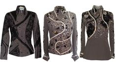 showmanship jackets | Gray Showmanship Outfit, Pleasure Jacket & HMS Shirt