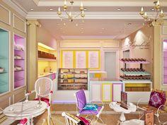 bakery displays ideas   Bakery Interiors