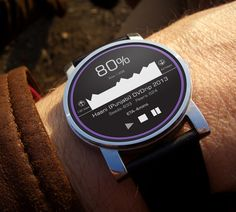Android Wear BitTorrent App Concept