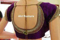 Blouse Designs By Shri Designers | Saree Blouse Patterns