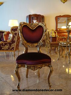 """Valentine"" Fabulous Baroque French Reproduction Victorian Louis XVI Accent Chair"