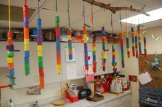 cool ideas on preschool room. this site had a cool sign in picture for the kids