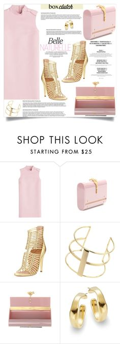 """""""box clutch"""" by nata91 ❤ liked on Polyvore featuring RED Valentino, Valentino, Sigerson Morrison, Topshop, Uno de 50, women's clothing, women's fashion, women, female and woman"""