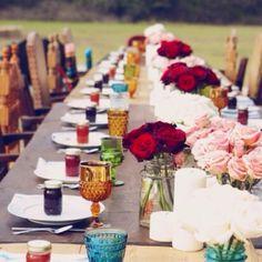 Bohemian wedding.