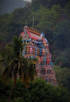 Kala Ksetram, Temple gopuram .