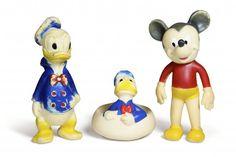 Badeand Donald, Micke Mus og Donald Duck mykplast Åsmund S. Lærdal