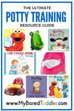 If you are preparing to potty train, you need this list! It has all the best resources to get you started on the right track!
