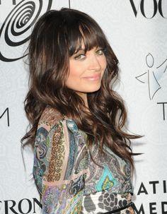 Nicole Richie, like the bangs