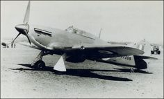 Hawker Hurricane Mk Ia sn V7209 of 73. Sqn - RAF Montrose April 1941.