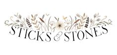 https://flic.kr/p/dP8wP6 | Sticks & Stones logo | A logotype for a florist shop in Alaska www.facebook.com/pages/Sticks-and-Stones-Flowers-and-Home...