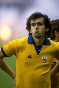 Michel Platini 1984 Juventus