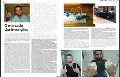Entrevista à Revista O Melhor do Oeste, que circula em 52 municípios do Paraná, para falar sobre o mercado de invenções no Brasil. Segue imagem da reportagem. Você também pode lê-la neste link da revista, edição Maio/2016 http://v.calameo.com/?bkcode=003460288483f07bbbfbf