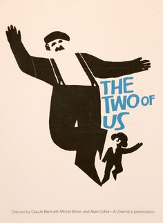 Saul Bass, The Two Of Us, Poster, 1967