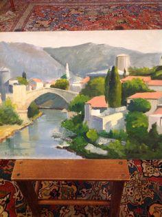 Paesaggio dipinto da me Painting, Art, Painting Art, Paintings, Kunst, Paint, Draw, Art Education, Artworks