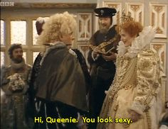 """And the appropriate way to address the Queen. 