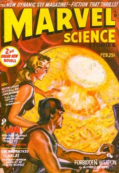 Marvel Science Stories (Collectible prints are great for display!)