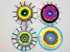 how to do cd weaving with kids the easy and fun way!