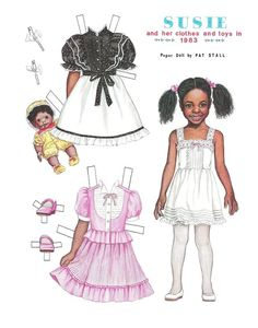 SUSI PAPER DOLL, 1983 - (1 OF 2)