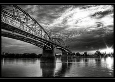 Esztergom, Mária Valéria Bridge, Hungary by Pitta.l.lorincz, via Flickr